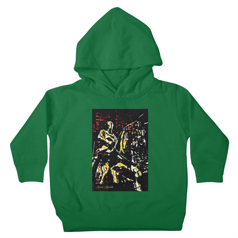 Armored Knight and Steed Kids Toddler Pullover Hoody by MariecorAgravante's Artist Shop