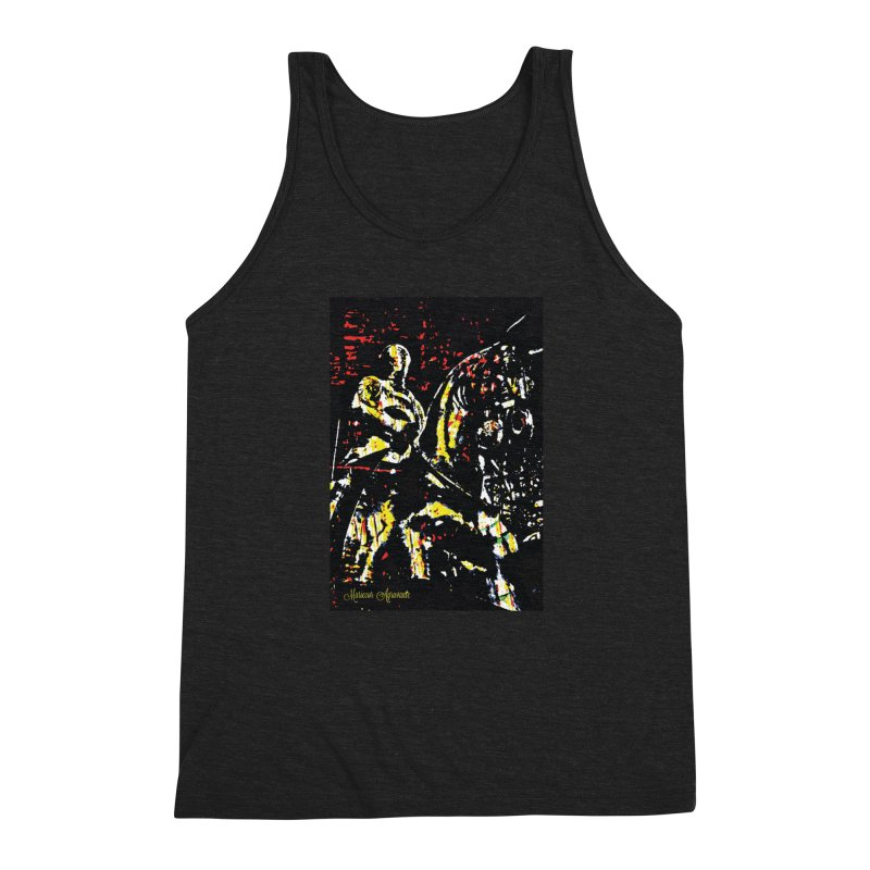 Armored Knight and Steed Men's Tank by MariecorAgravante's Artist Shop