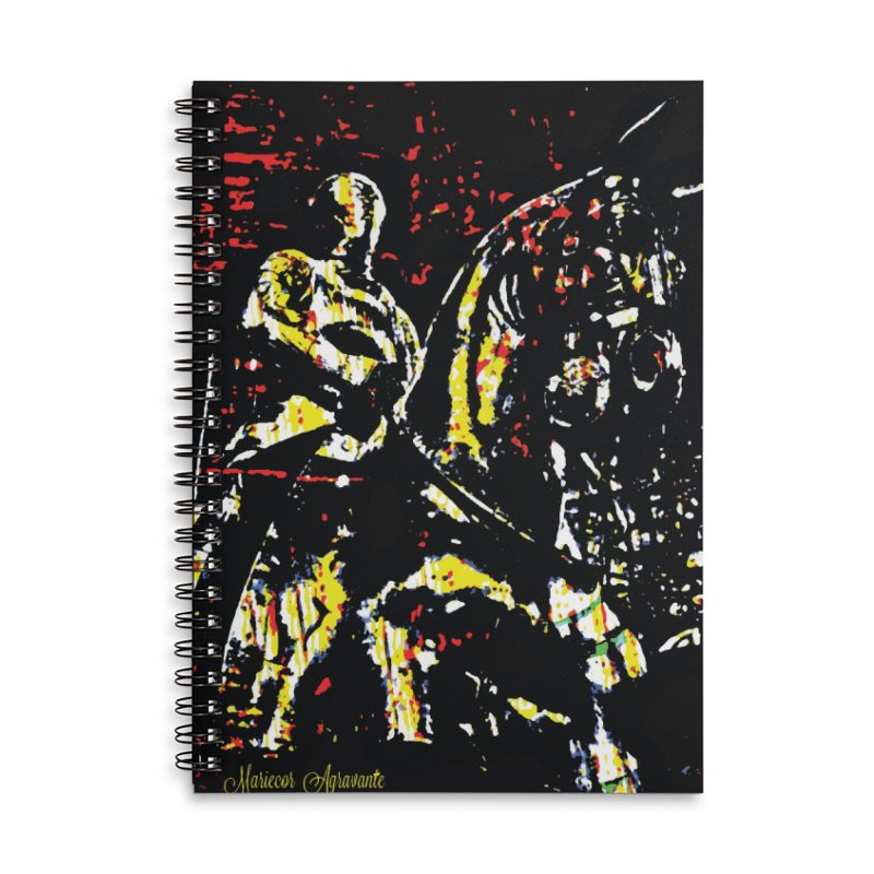Armored Knight and Steed Accessories Lined Spiral Notebook by MariecorAgravante's Artist Shop
