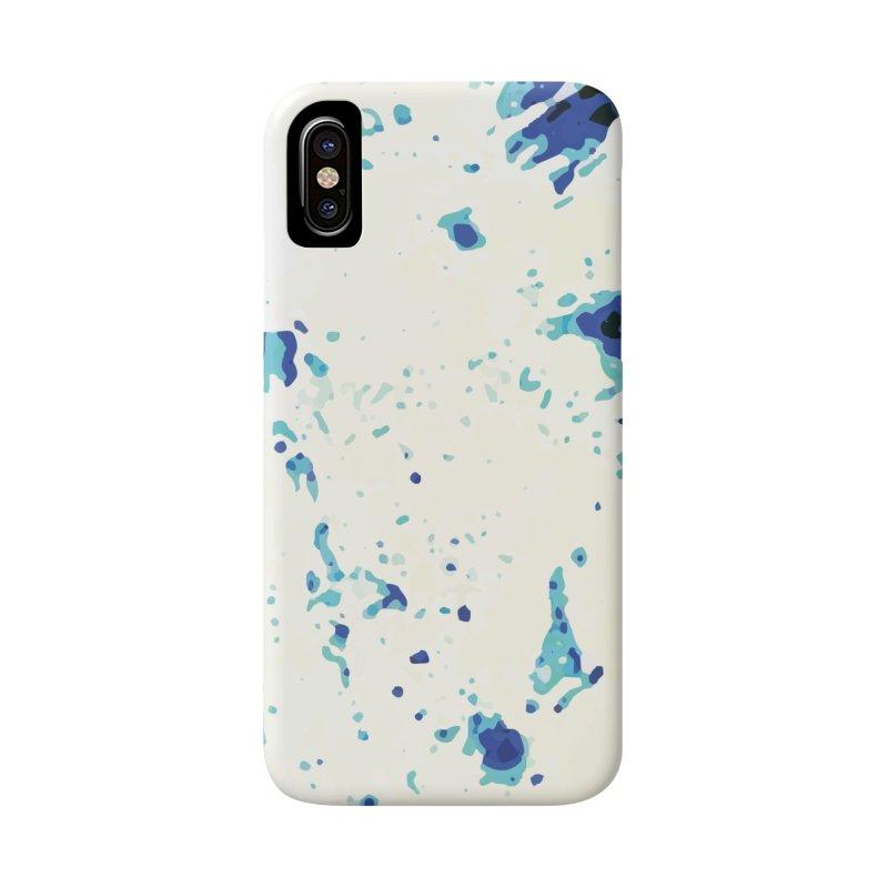 Astronaut in Cool Blue Planet Exploration Accessories Phone Case by MariecorAgravante's Artist Shop