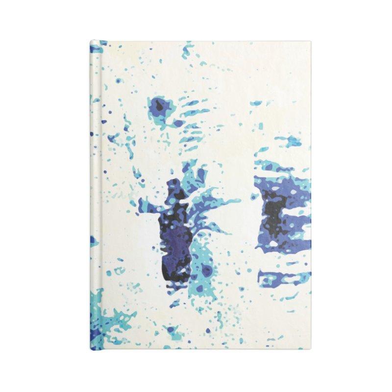 Astronaut in Cool Blue Planet Exploration Accessories Notebook by MariecorAgravante's Artist Shop