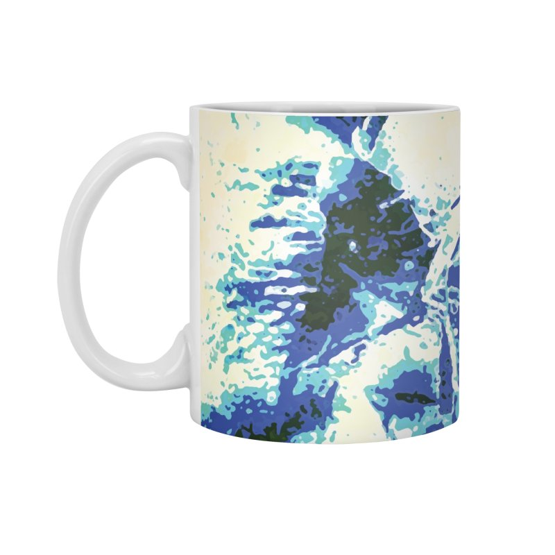 Astronaut in Cool Blue Planet Exploration Accessories Mug by MariecorAgravante's Artist Shop