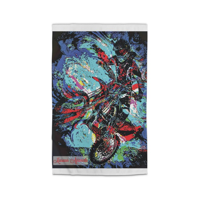 Biking Rugged Home Rug by MariecorAgravante's Artist Shop