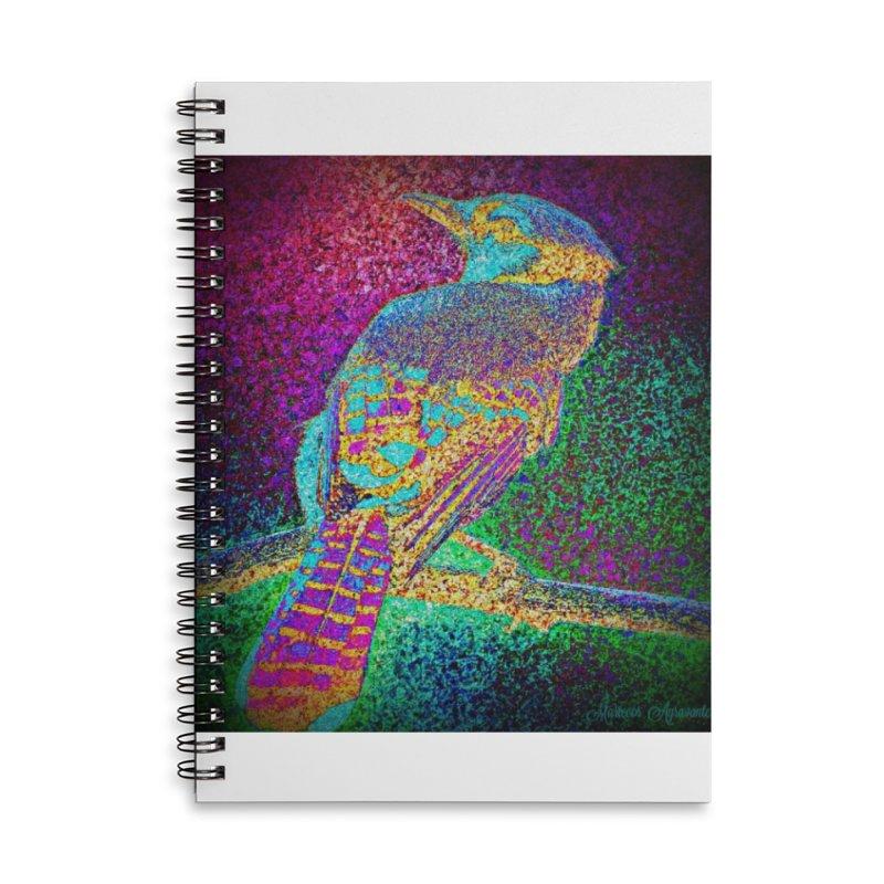 Bird Bower Accessories Lined Spiral Notebook by MariecorAgravante's Artist Shop