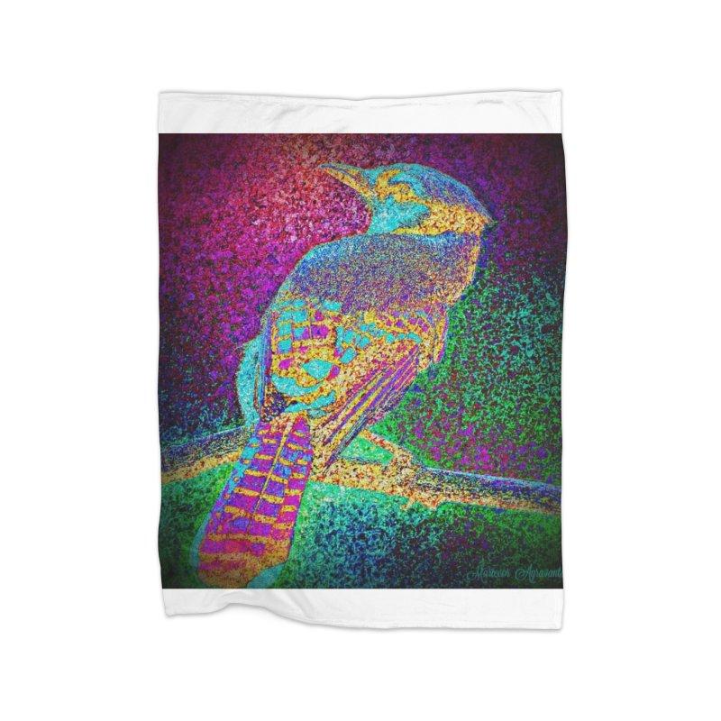Bird Bower Home Fleece Blanket Blanket by MariecorAgravante's Artist Shop