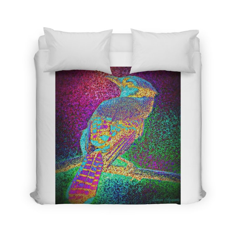 Bird Bower Home Duvet by MariecorAgravante's Artist Shop