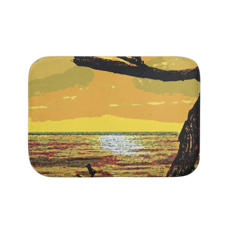 Birds by the Sea Home Bath Mat by MariecorAgravante's Artist Shop