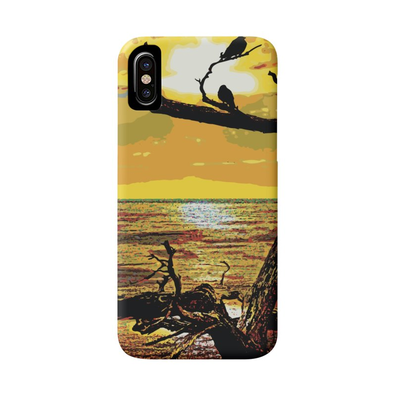 Birds by the Sea Accessories Phone Case by MariecorAgravante's Artist Shop