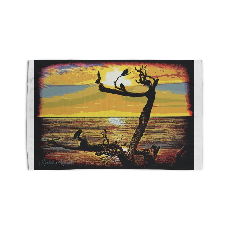 Birds by the Sea Home Rug by MariecorAgravante's Artist Shop