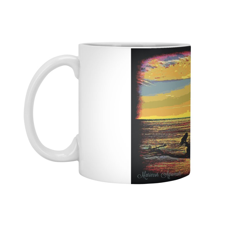 Birds by the Sea Accessories Mug by MariecorAgravante's Artist Shop