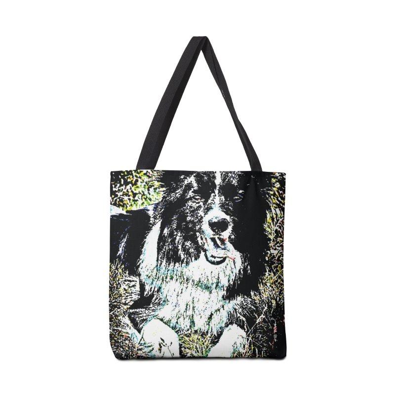 Border Collie Accessories Bag by MariecorAgravante's Artist Shop