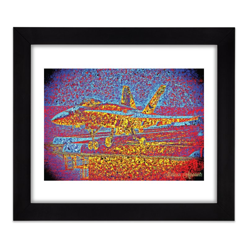 Carrier Takeoff Home Framed Fine Art Print by MariecorAgravante's Artist Shop