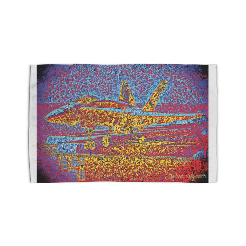 Carrier Takeoff Home Rug by MariecorAgravante's Artist Shop