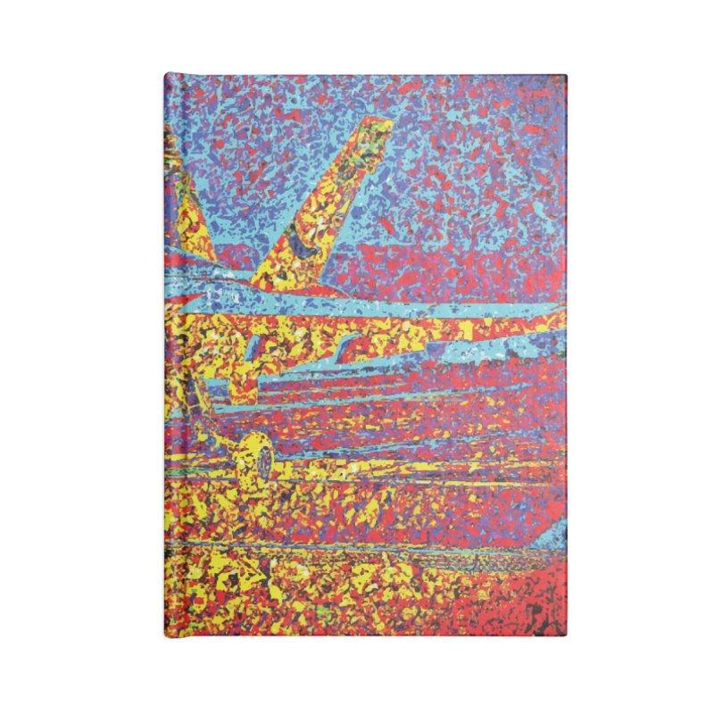 Carrier Takeoff Accessories Lined Journal Notebook by MariecorAgravante's Artist Shop