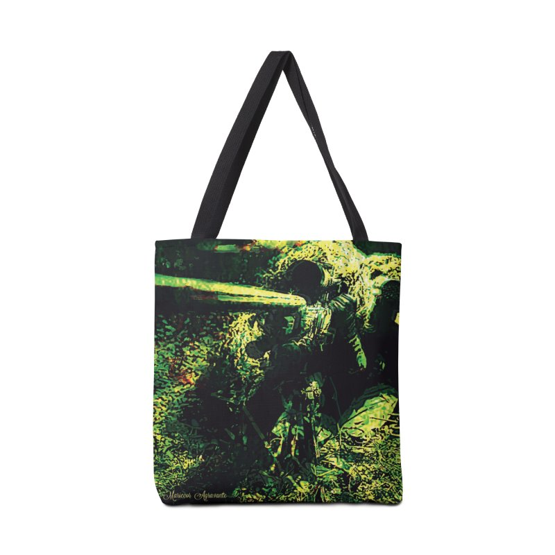 Covered Sniper and Spotter Accessories Tote Bag Bag by MariecorAgravante's Artist Shop