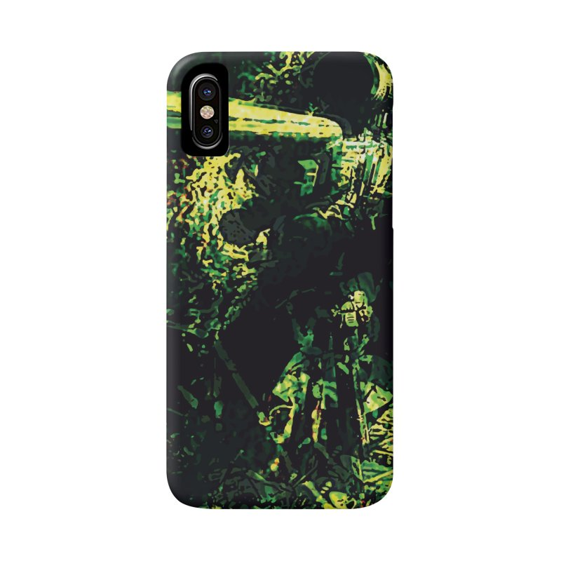 Covered Sniper and Spotter Accessories Phone Case by MariecorAgravante's Artist Shop