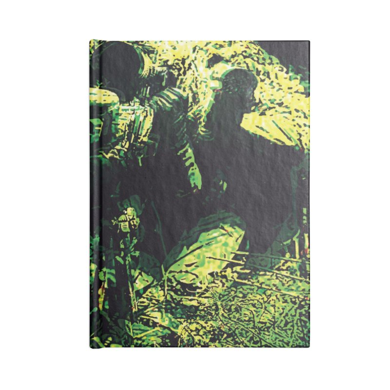 Covered Sniper and Spotter Accessories Notebook by MariecorAgravante's Artist Shop