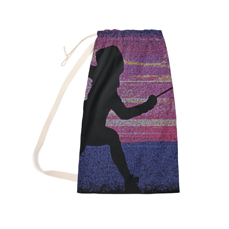 Fencing Sunrise Accessories Bag by MariecorAgravante's Artist Shop