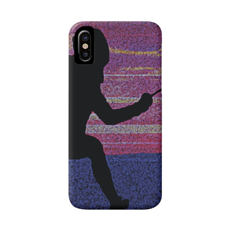 Fencing Sunrise Accessories Phone Case by MariecorAgravante's Artist Shop