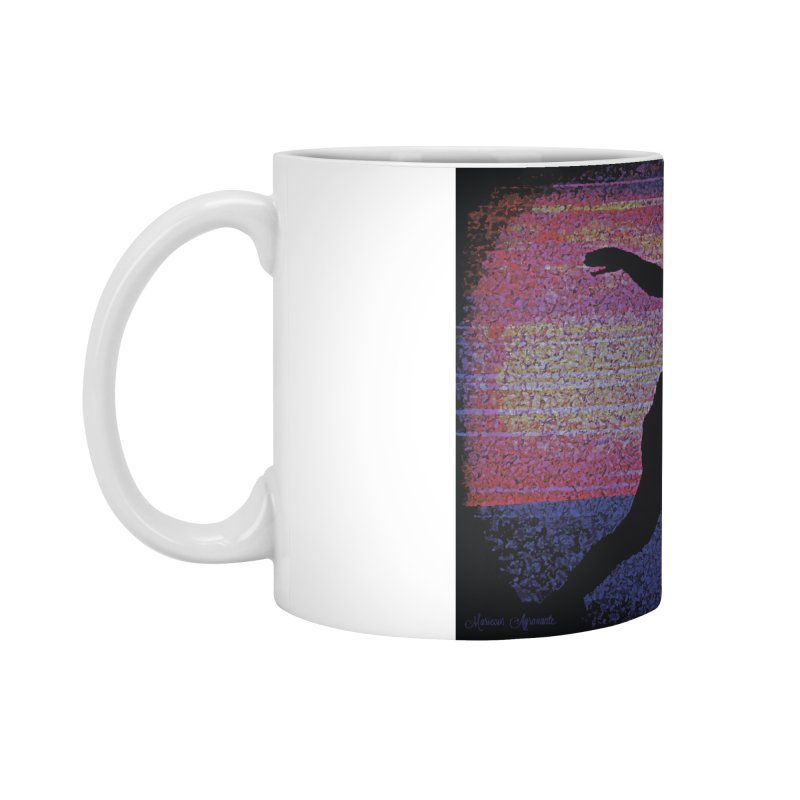 Fencing Sunrise Accessories Mug by MariecorAgravante's Artist Shop
