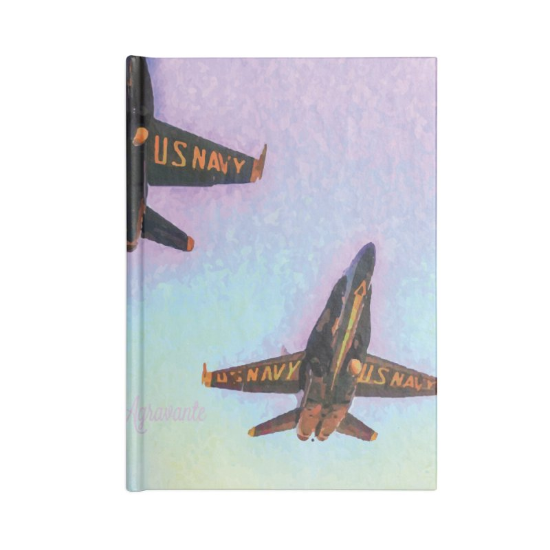 Blue Angels Squadron Accessories Blank Journal Notebook by MariecorAgravante's Artist Shop