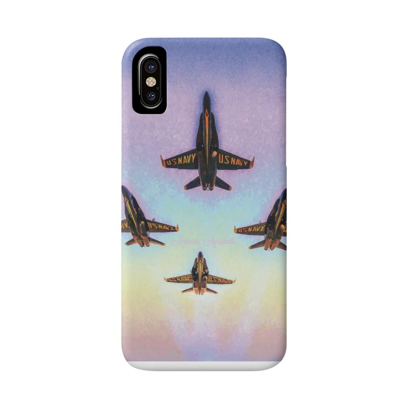 Blue Angels Squadron Accessories Phone Case by MariecorAgravante's Artist Shop