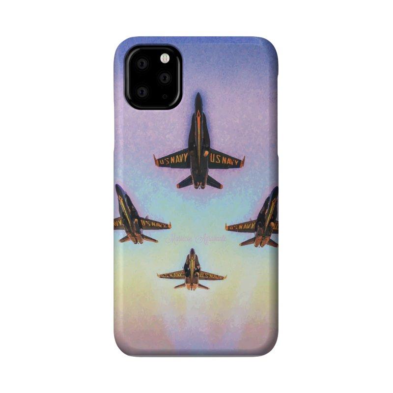Blue Angels Squadron Accessories Phone Case by MariecorAgravante's Artist Shop