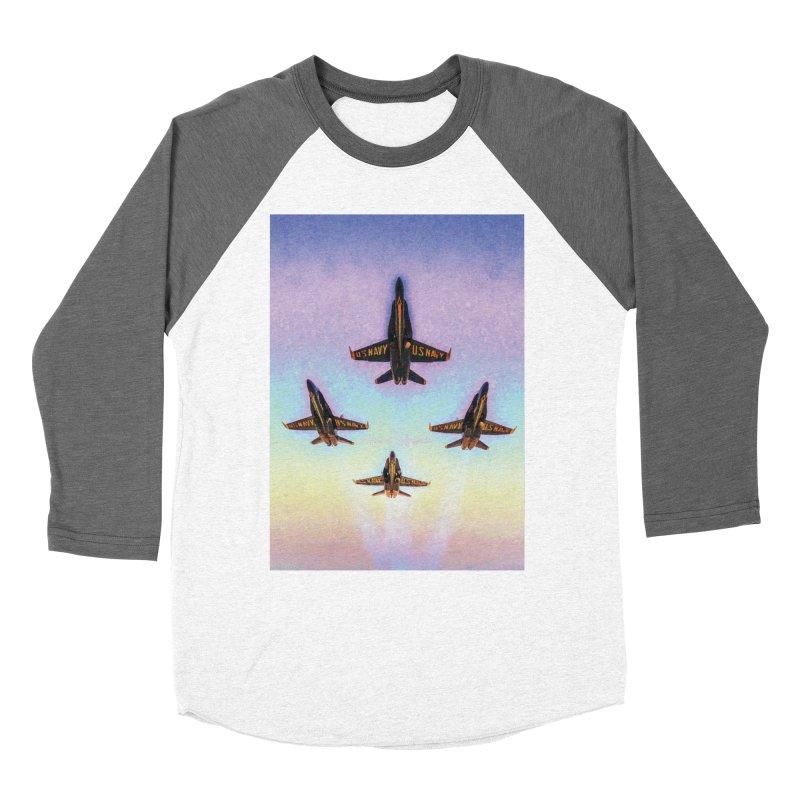 Blue Angels Squadron Women's Longsleeve T-Shirt by MariecorAgravante's Artist Shop