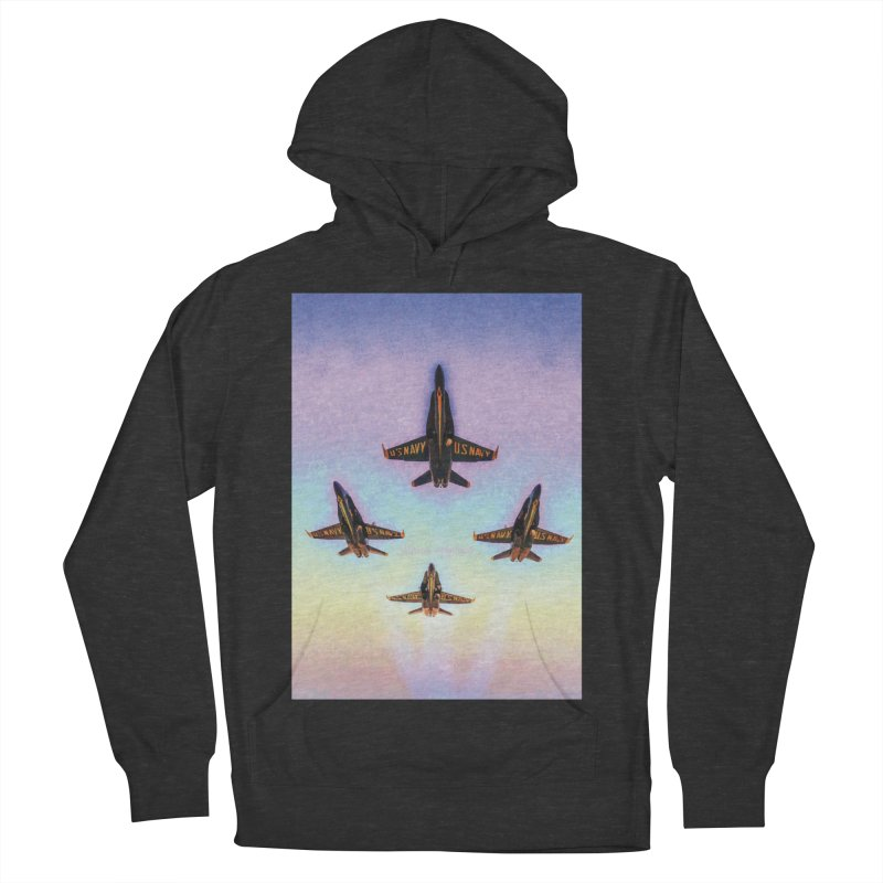 Blue Angels Squadron Women's French Terry Pullover Hoody by MariecorAgravante's Artist Shop