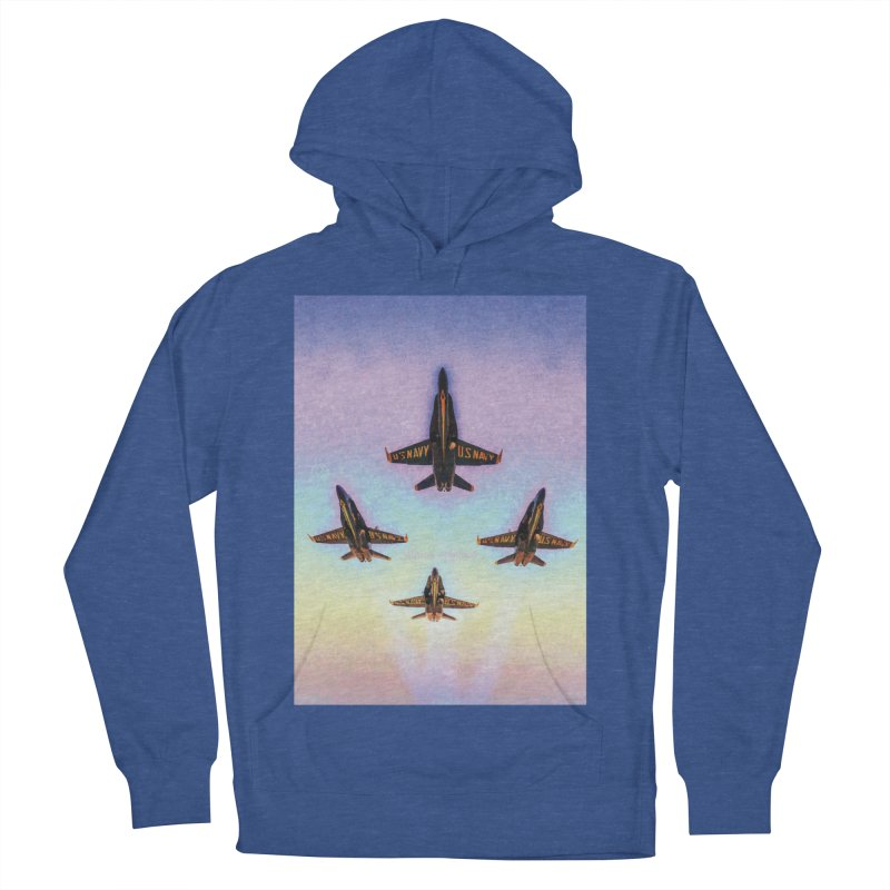 Blue Angels Squadron Men's French Terry Pullover Hoody by MariecorAgravante's Artist Shop