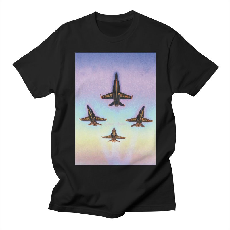 Blue Angels Squadron Women's Regular Unisex T-Shirt by MariecorAgravante's Artist Shop
