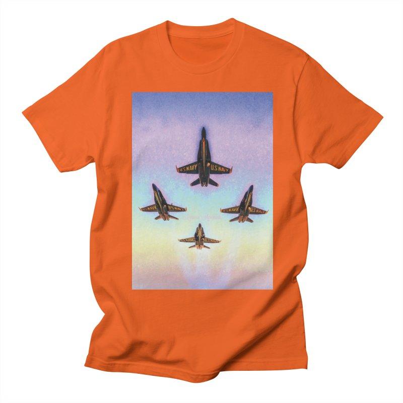 Blue Angels Squadron Women's Unisex T-Shirt by MariecorAgravante's Artist Shop
