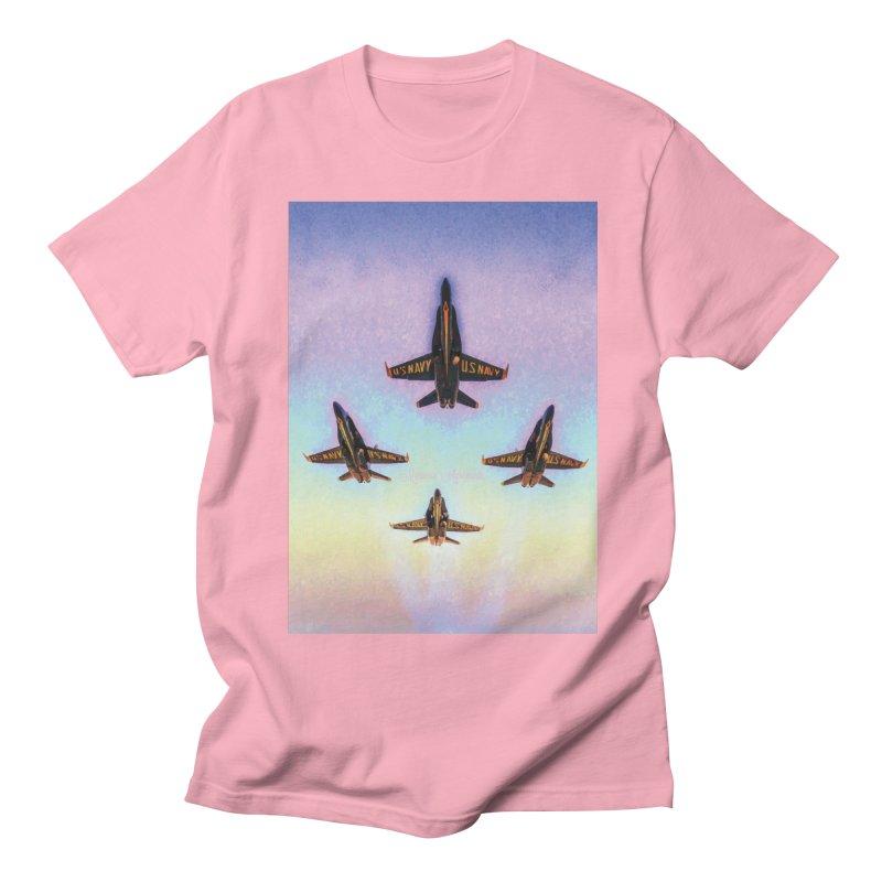 Blue Angels Squadron Women's Regular Unisex T-Shirt by MariecorAgravante's Artist Shop