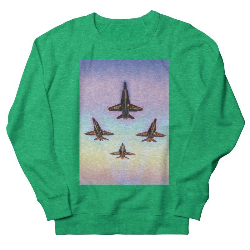 Blue Angels Squadron Women's Sweatshirt by MariecorAgravante's Artist Shop