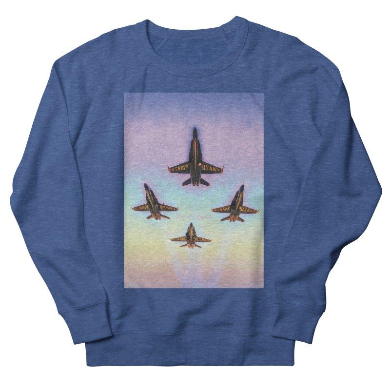 Blue Angels Squadron Women's French Terry Sweatshirt by MariecorAgravante's Artist Shop