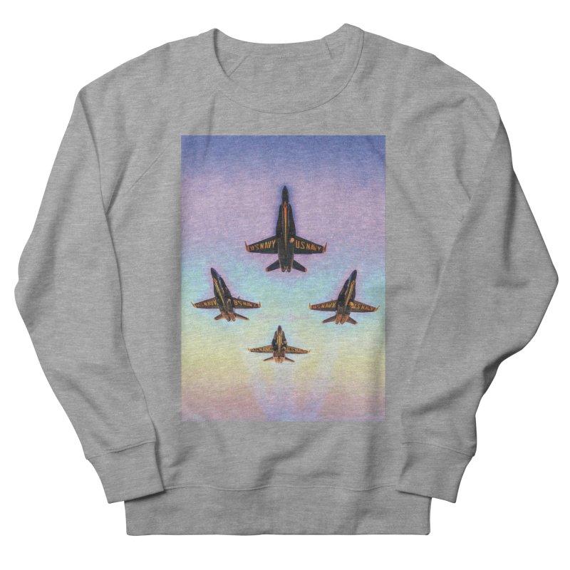 Blue Angels Squadron Men's Sweatshirt by MariecorAgravante's Artist Shop