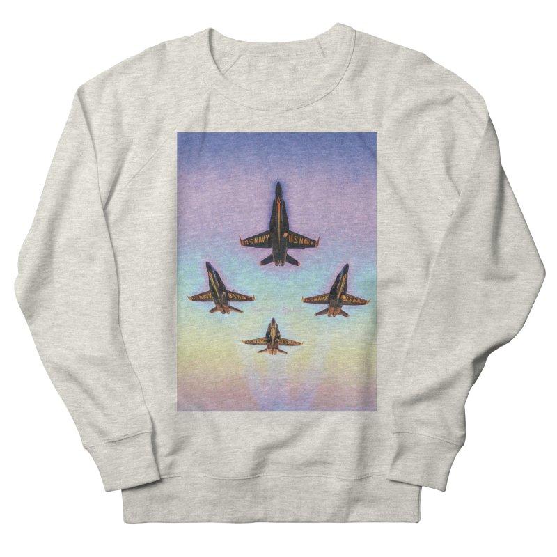 Blue Angels Squadron Men's French Terry Sweatshirt by MariecorAgravante's Artist Shop