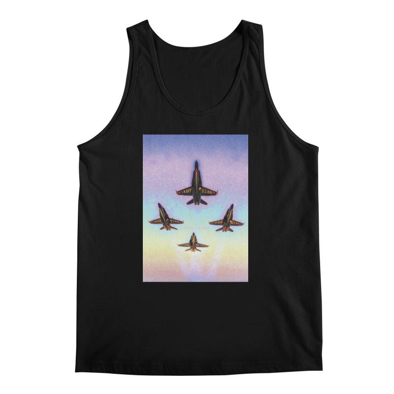 Blue Angels Squadron Men's Regular Tank by MariecorAgravante's Artist Shop