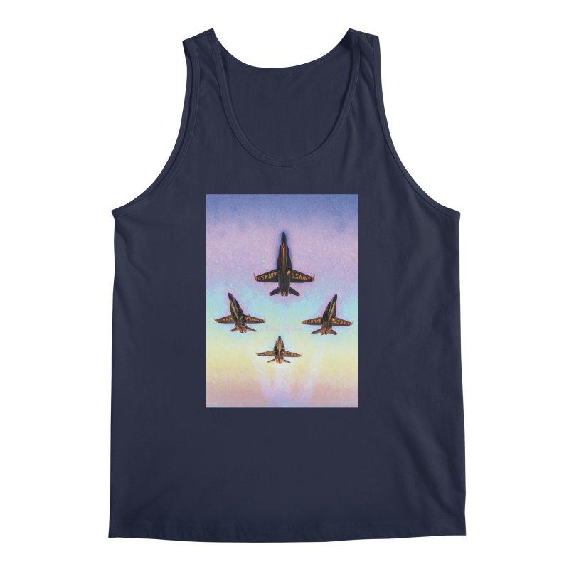 Blue Angels Squadron Men's Tank by MariecorAgravante's Artist Shop