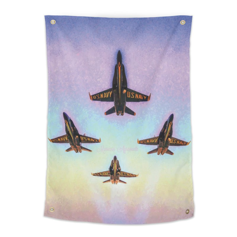 Blue Angels Squadron Home Tapestry by MariecorAgravante's Artist Shop