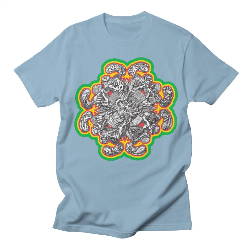 madder hatter Men's Regular T-Shirt by Mark Dean Veca