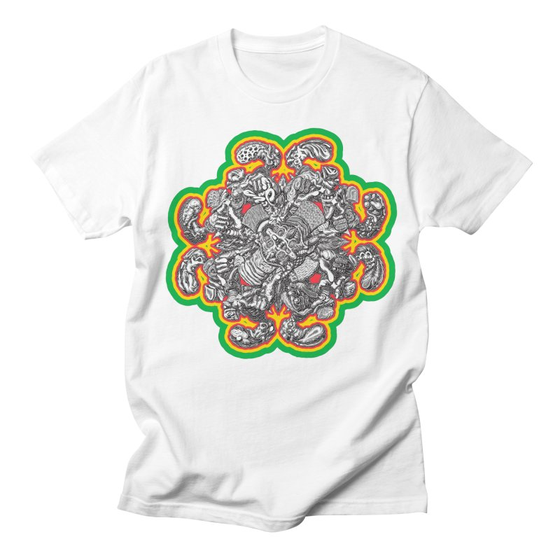 madder hatter Women's Regular Unisex T-Shirt by Mark Dean Veca
