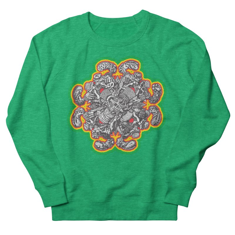 madder hatter Women's Sweatshirt by Mark Dean Veca