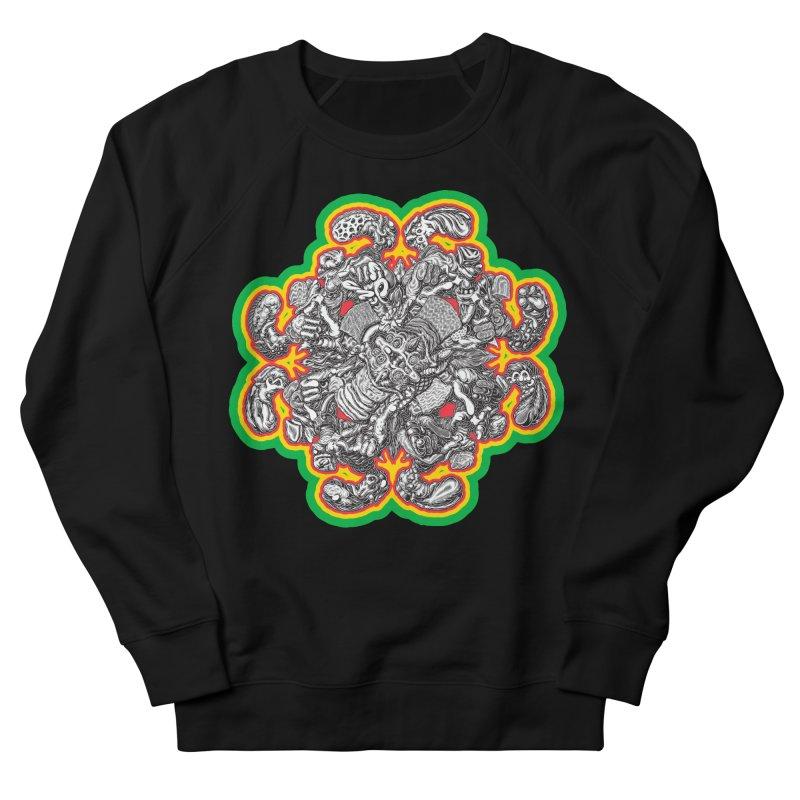 madder hatter Women's French Terry Sweatshirt by Mark Dean Veca