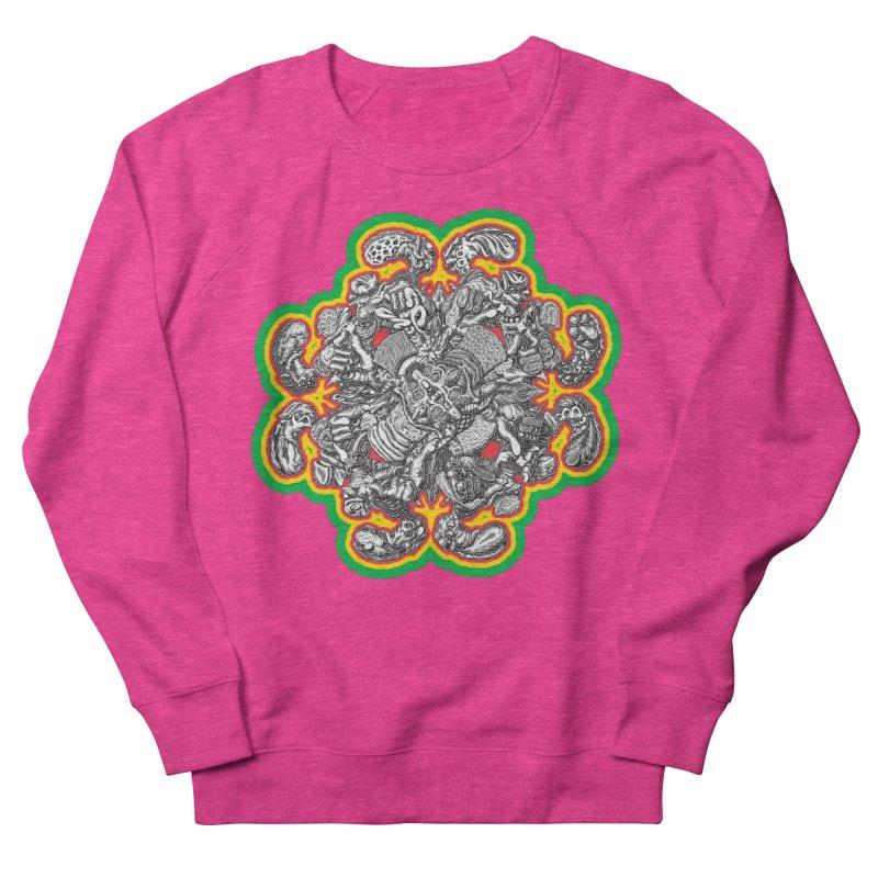 madder hatter Men's French Terry Sweatshirt by Mark Dean Veca