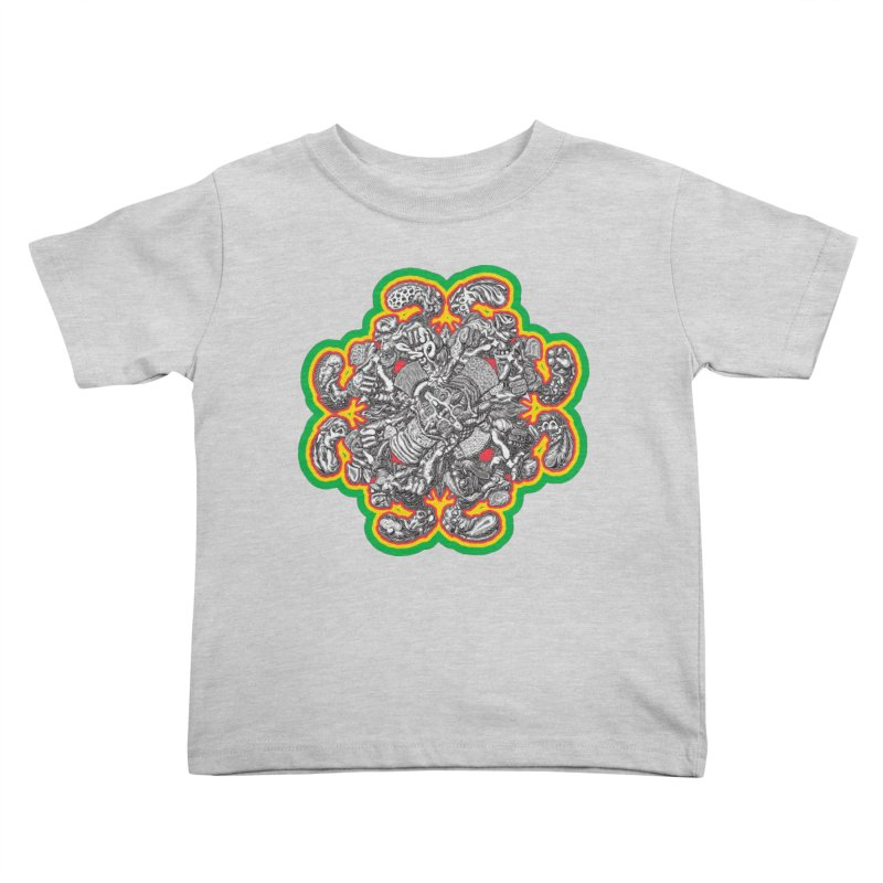 madder hatter Kids Toddler T-Shirt by Mark Dean Veca