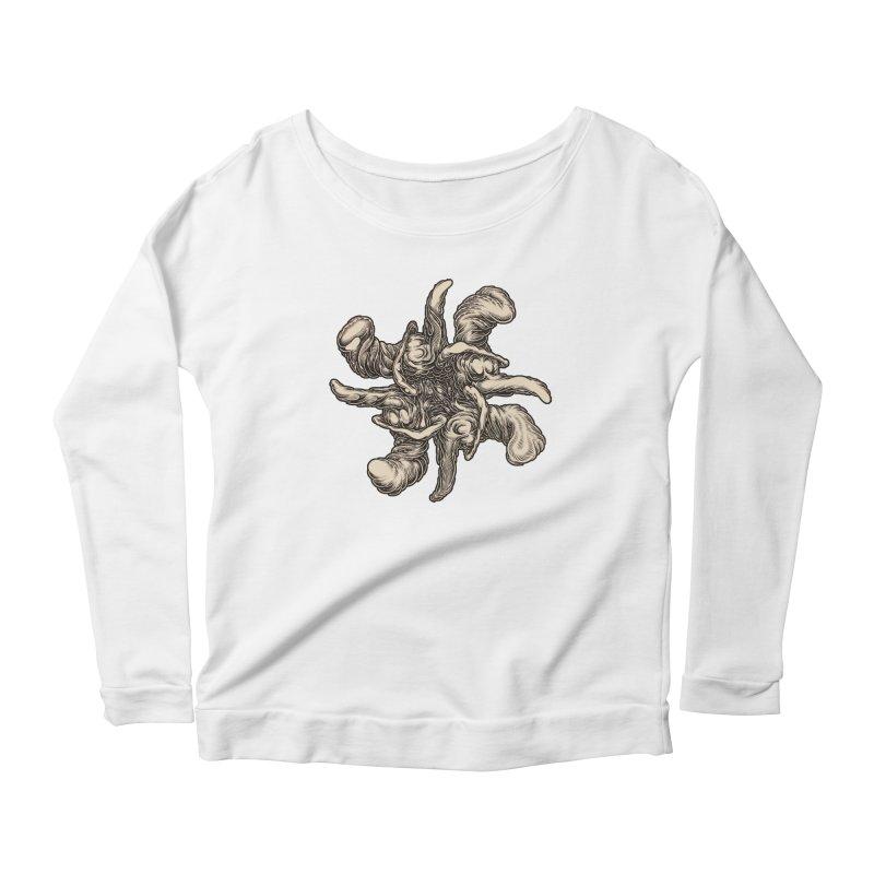 SJC Women's Scoop Neck Longsleeve T-Shirt by Mark Dean Veca