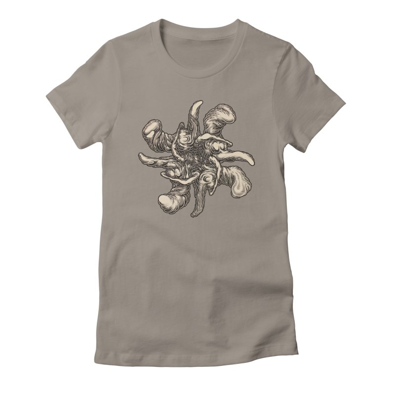 SJC Women's Fitted T-Shirt by Mark Dean Veca