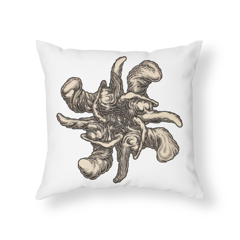 SJC Home Throw Pillow by Mark Dean Veca