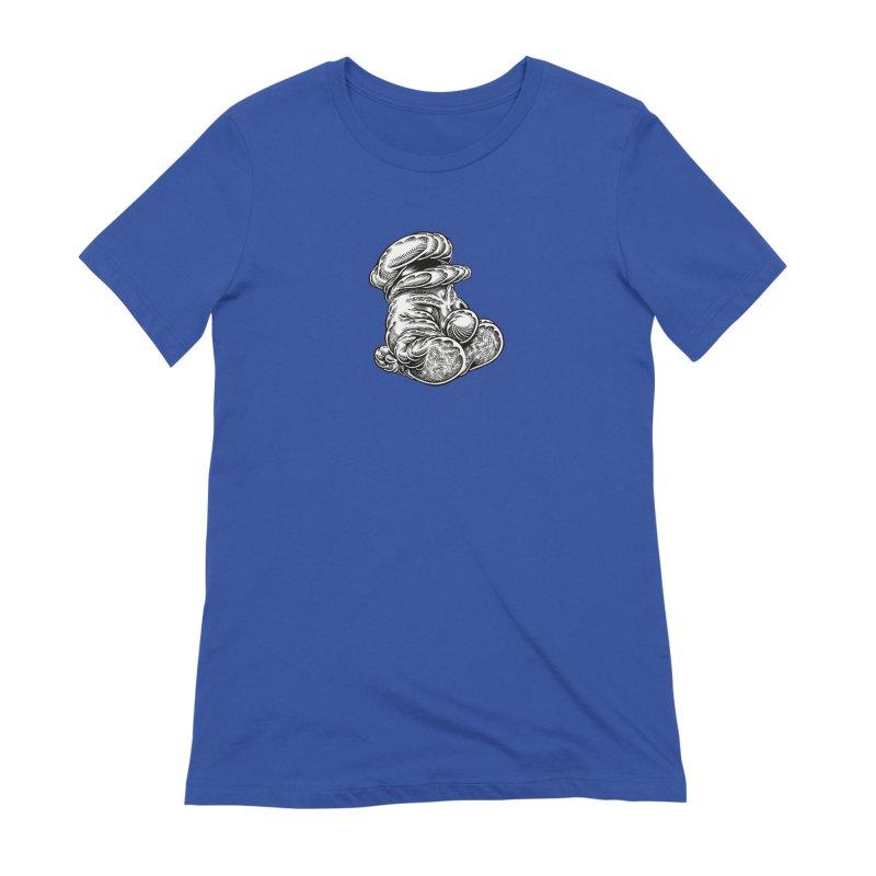 I yam. Women's Extra Soft T-Shirt by Mark Dean Veca
